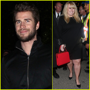 Liam Hemsworth Joins Rebel Wilson at WME Pre-Oscar Party!