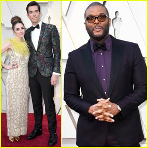 Tyler Perry & John Mulaney Look Sharp at Oscars 2019!
