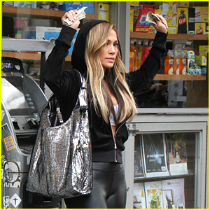 Jennifer Lopez Gets in Trouble With the Law on the 'Hustlers' Set