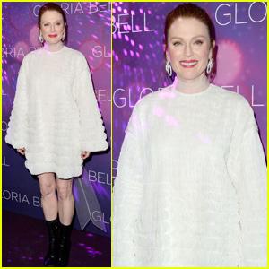 Julianne Moore Premieres 'Gloria Bell' in Paris!