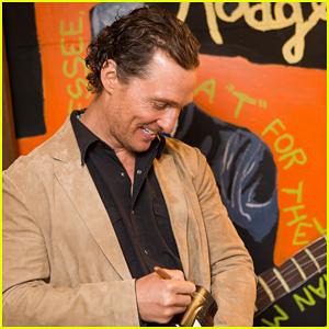 Matthew McConaughey Celebrates Mack, Jack & McConaughey Gala 2019!