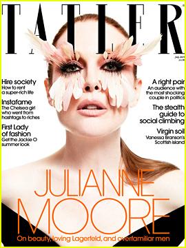 Julianne Moore Comments on Joe Biden's 'Inappropriate Touching'