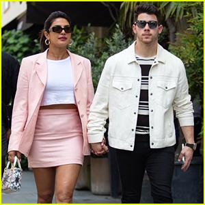 Priyanka Chopra Shops at Dior With Nick Jonas in Paris