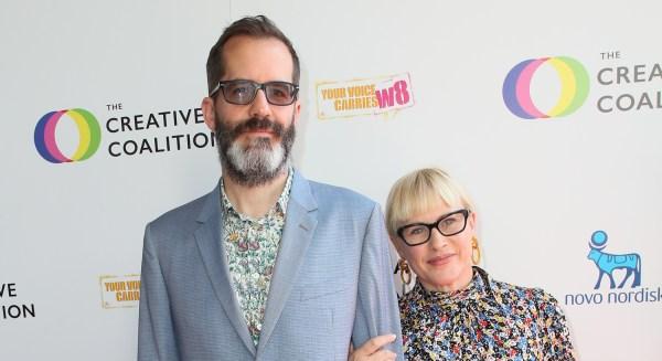 Patricia Arquette & Boyfriend Eric White Attend Creative Coalition Humanitarian Awards Gala