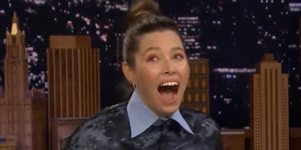 Jessica Biel Shaded Future Husband Justin Timberlake & NSYNC in Early
