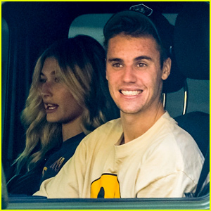 Justin & Hailey Bieber Are All Smiles During Lunch Run!