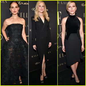 Natalie Portman, Nicole Kidman & Scarlett Johansson Get Honored at Elle Women in Hollywood Celebration!