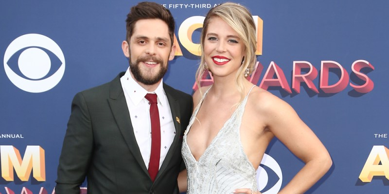 Thomas Rhett & Pregnant Wife Lauren Akins Celebrate 7 Year Anniversary With Sweet Tributes