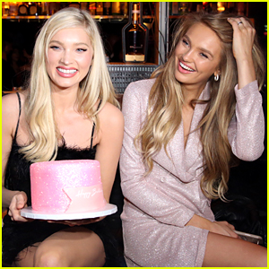 Elsa Hosk Celebrates Her Birthday at boohoo.com's Holiday Collection Launch With Romee Strijd