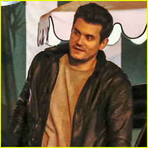 John Mayer Looks Casually Cool for Dinner in WeHo
