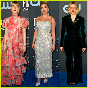 Saoirse Ronan, Florence Pugh & Greta Gerwig Bring 'Little Women' To Critics' Choice Awards 2020