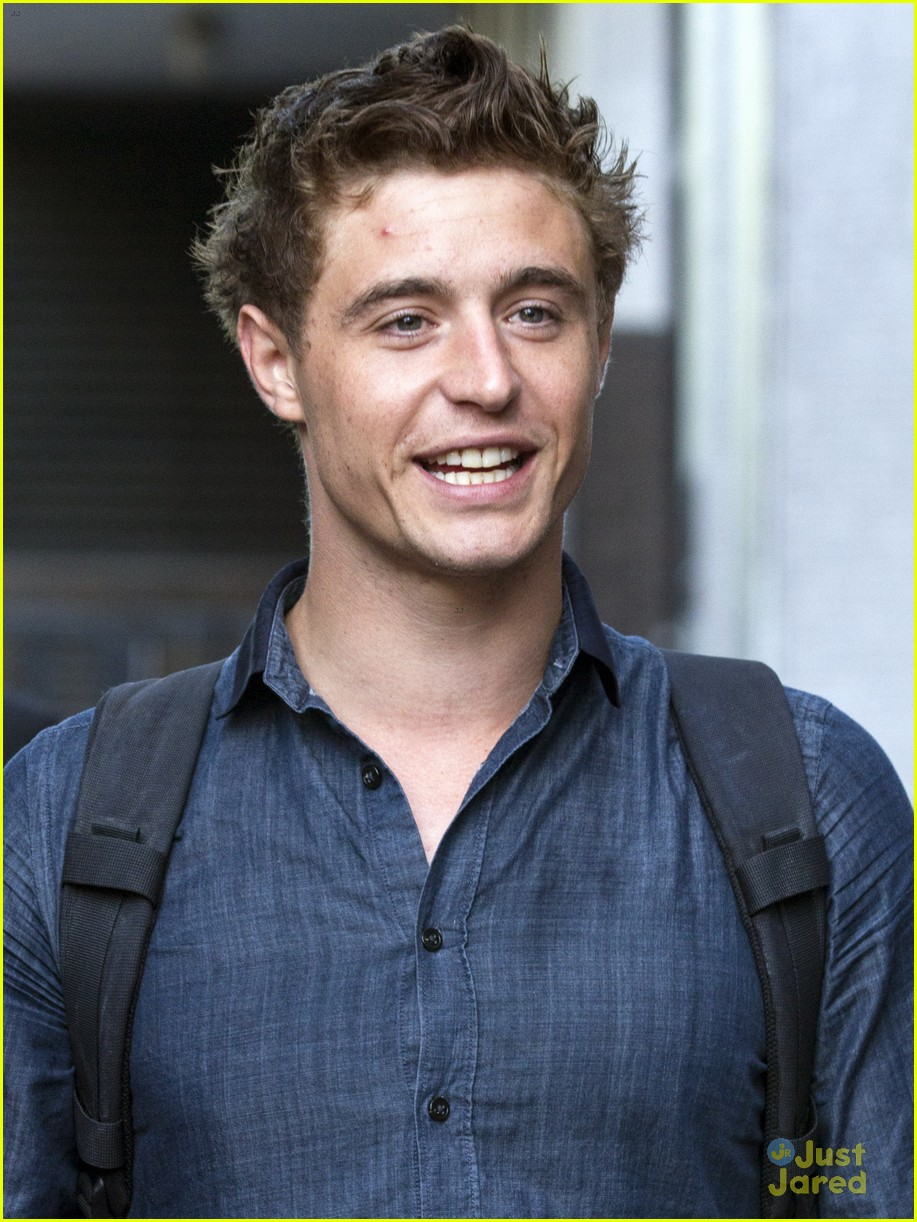 Max Irons I Was Starstruck By Prince William Photo