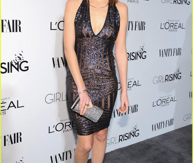 Ashley Tisdale Emily Osment Vf Loreal Oscar Party