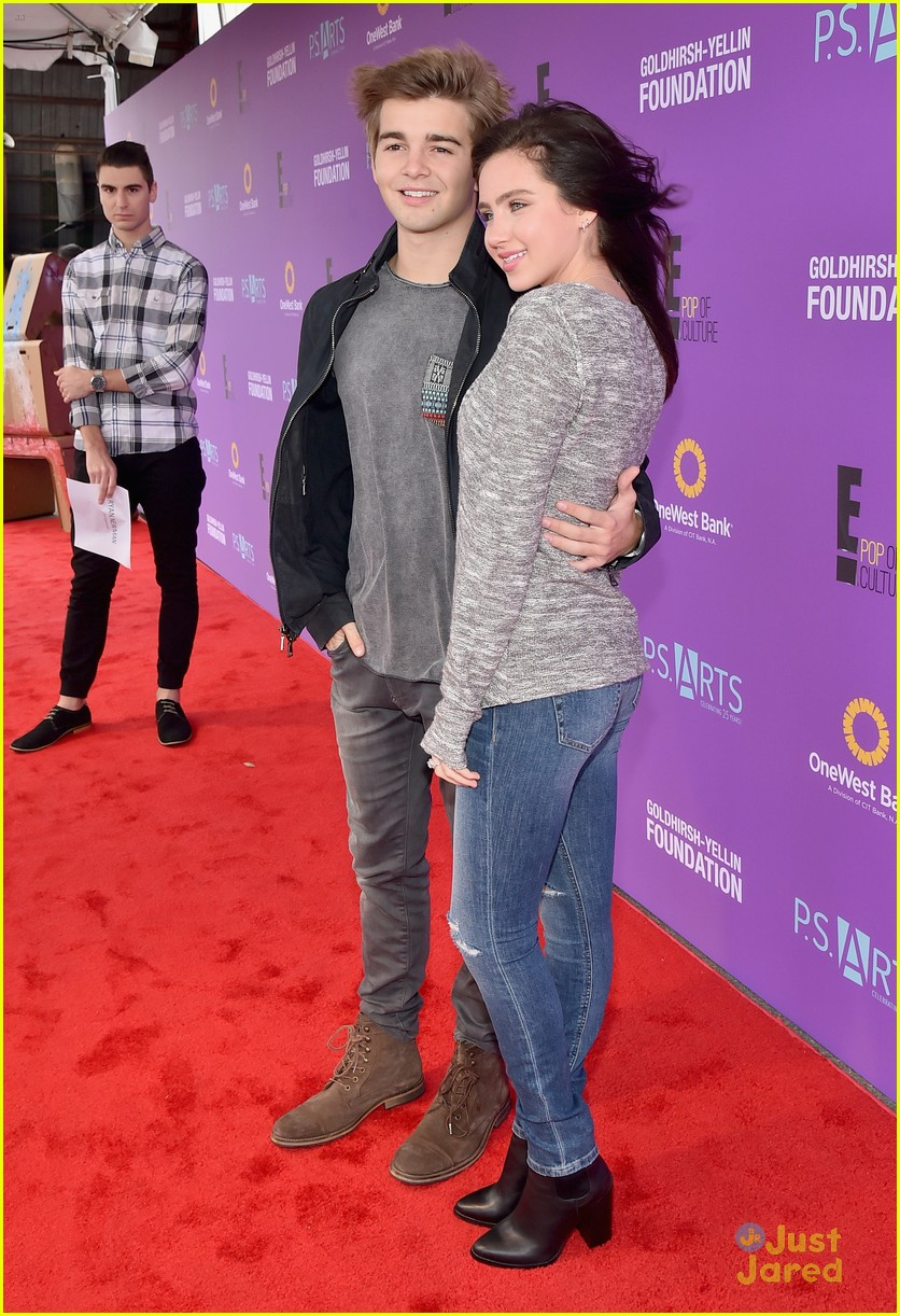 Ryan Newman Amp Jack Griffo Couple Up For PS Arts Express