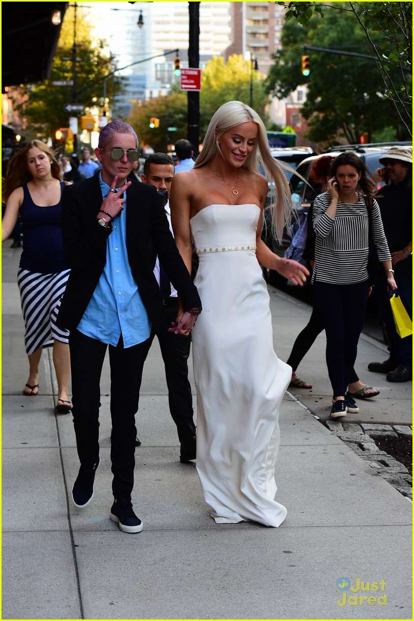 Gigi Gorgeous Brings Girlfriend Nats Getty To UN Dinner In