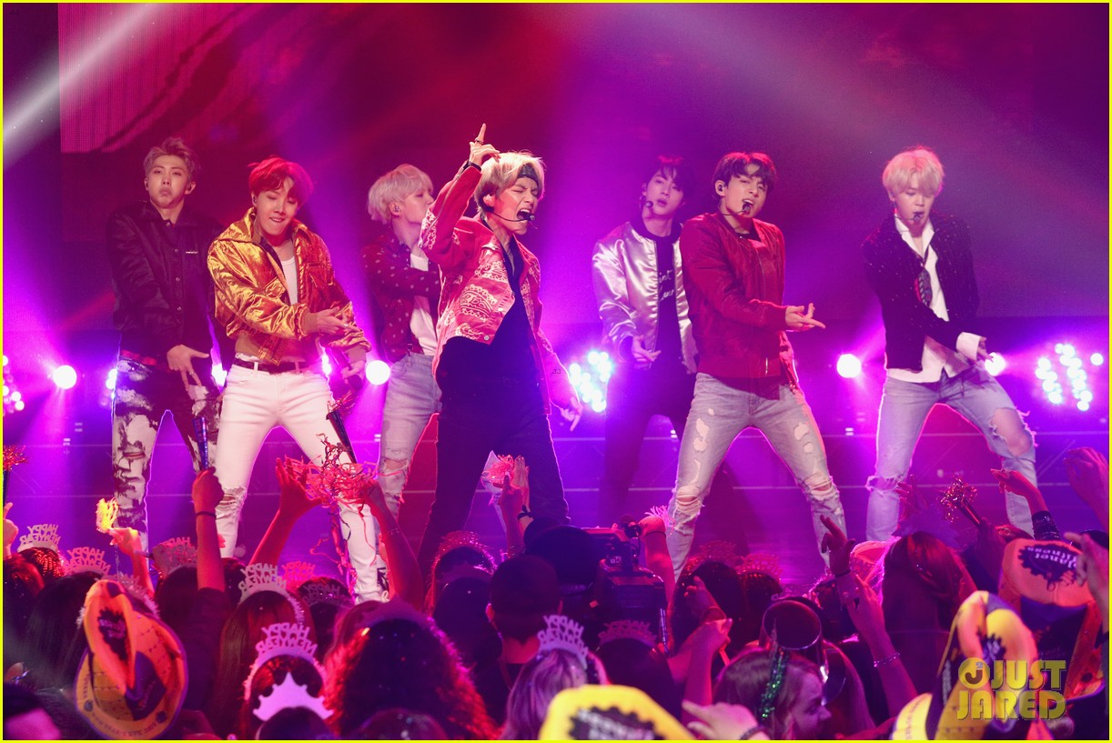Bts Has A Rockin New Year S Eve