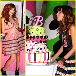 Inside Bella Thornes 13th Birthday Party Bella Thorne