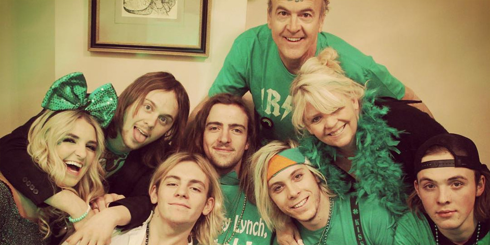 R5 Celebrate St Patricks Day While Wrapping Sometime