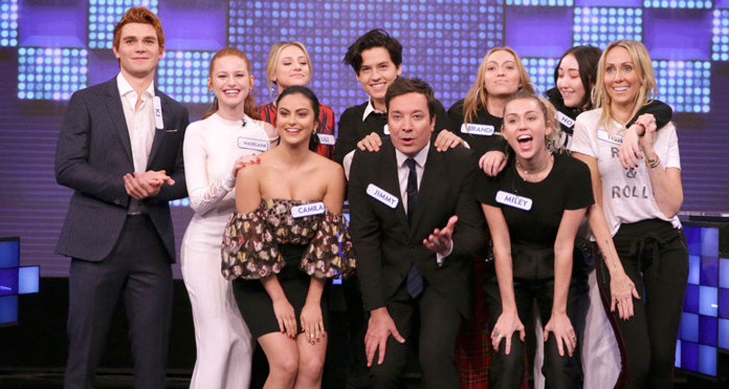 Riverdale Cast Team Up Against Miley Cyrus Family In
