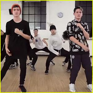 Max & Harvey Break It Down in 'Trade Hearts' Dance Video - Watch Now!