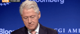 Bill Clinton speaks at Clinton Global Initiative, June 14, 2016. (YouTube screen grab)