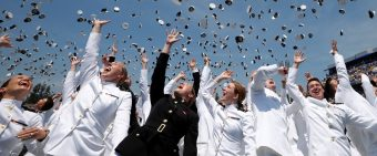 Pence's Commencement Speech To Navy Grads Was 20 Minutes Of Pure Red, White And Blue [VIDEO]
