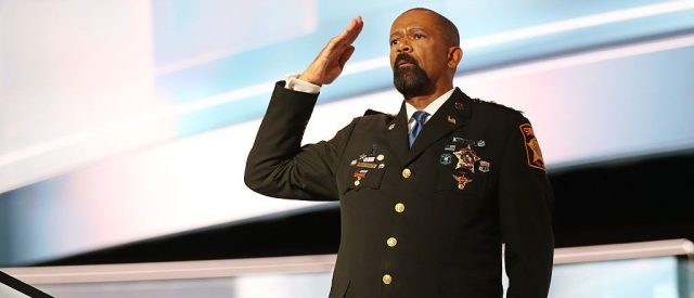 Milwaukee Co. Sheriff David Clarke Says He's Taking Homeland Security Job