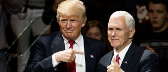 Pence Distancing Himself From Trump? 'Laughable,' Says VP's Office