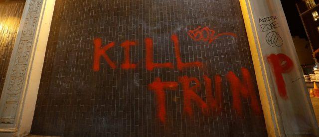 Leftist Berkeley Students Arrested On Suspicion For 'F**k White People' And 'Kill Cops' Vandalism