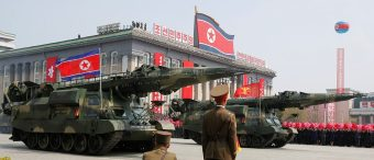 North Korea Fires Off Short-Range Ballistic Missile