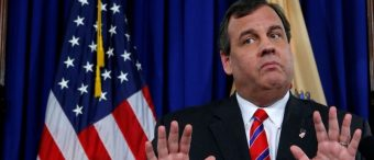 Chris Christie Caught Relaxing On Beach Closed To The Public