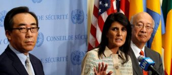 Haley: 'Yes,' We Had To Twist Arms To Get China, Russia On Board With North Korea Sanctions