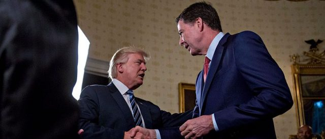 Comey Friend: Ex-FBI Chief Said He Was 'Disgusted' By Trump Hug [VIDEO]