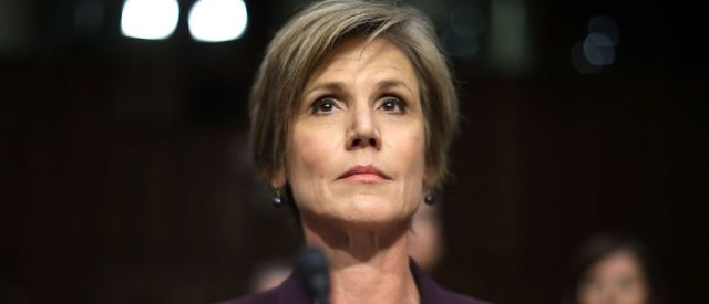 Sally Yates Gets Asked Why She Contacted The White House About Flynn -- And Boy Was Her Answer Something