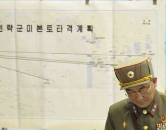 Map from the meeting (Reuters via KCNA)