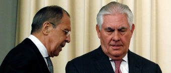 Tillerson Rules Out A Clinton-Style 'Reset' With Russia