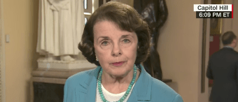 Dianne Feinstein Says She Has Not Seen Evidence Of Trump-Russia Collusion [VIDEO]