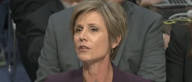 Sally Yates Undercuts Democrats' Argument For A Special Prosecutor In Trump-Russia Probe [VIDEO]