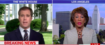 MSNBC Host Baffled When Maxine Waters Keeps Contradicting Herself