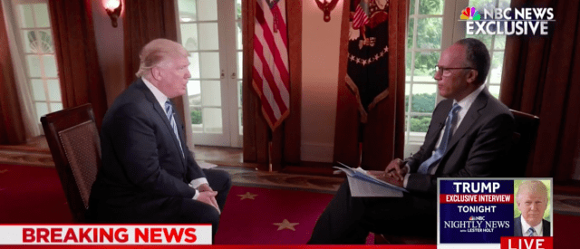 Trump Said He Was Going To Fire Comey 'Regardless Of Recommendation'