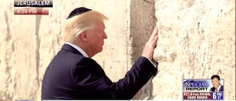 HISTORIC MOMENT: Trump Becomes First Sitting President To Visit Western Wall