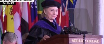 Hillary Clinton References Trump Impeachment Talk During Wellesley Commencement Speech