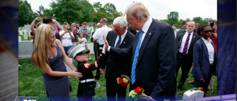 When This 6-Yr-Old Gold Star Marine Son Described Meeting POTUS, There Wasn't A Dry Eye In The Fox Studio [VIDEO]