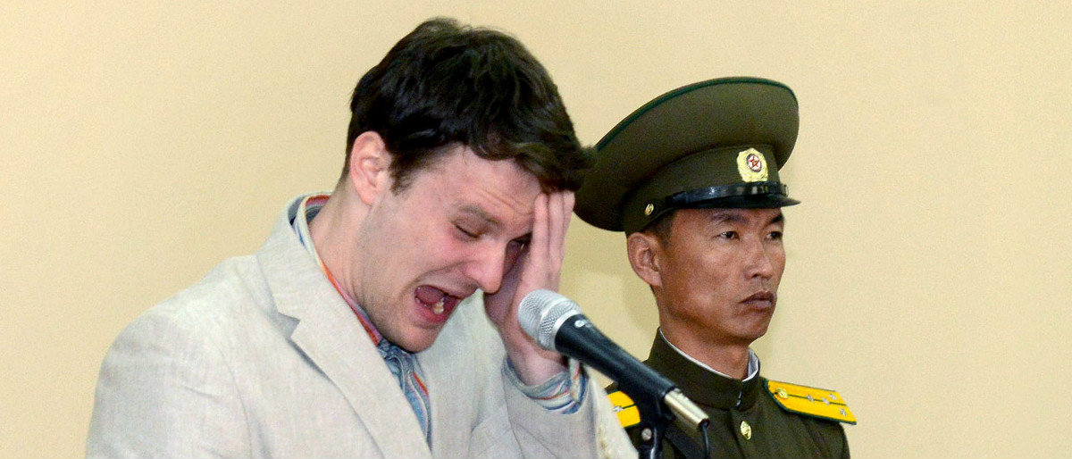 Otto Warmbier Reuters/Korean Central News Agency