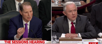 Sessions Bites The Head Off Dem Sen. Over Question About His Recusal From Russia Probe [VIDEO]