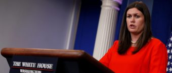 It Didn't Take Long For People To Start Attacking Sarah Huckabee Sanders After Her Promotion