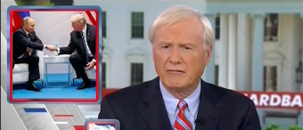 MANSPREADING Was The 'Big Story' Chris Matthews Took Away From The Trump Putin Meeting
