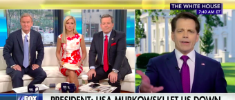 Scaramucci Decries Backstabbers in Washington--'I'm More Of A Front Stabbing Person' [VIDEO]