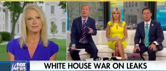 Kellyanne Doesn't Deny That Reince Is Leaking Information Out Of The White House