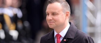 Polish President: His Wife Snubbing Trump Is 'Fake News'